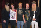Autograph Pros in-person signing with ZZ Top.