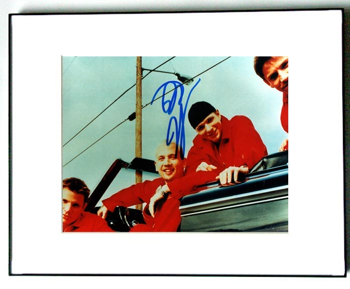 98 Degrees Autographed Signed Photo UACC RD & PSA/DNA   AFTAL