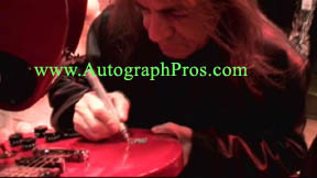 IN-PERSON AUTOGRAPHS from Nov. 14 with AC/DC, Pink Floyd, Bruce