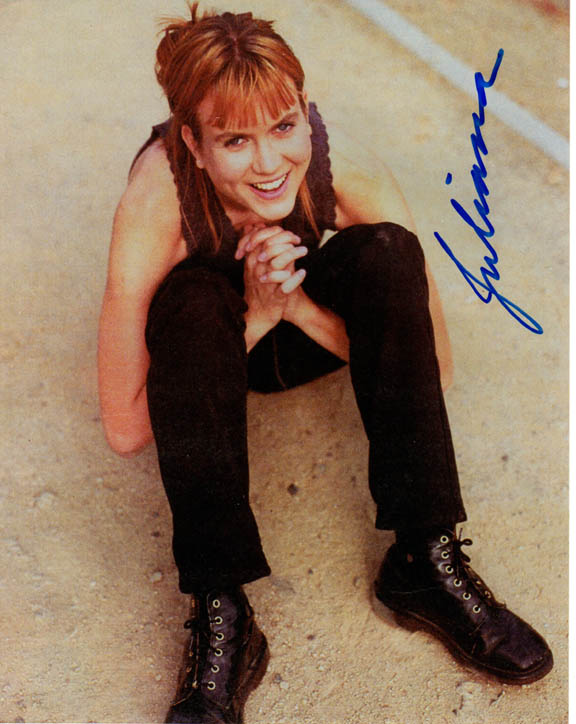 Juliana Hatfield Autographed Signed Smiling Poster Photo Uacc Rd