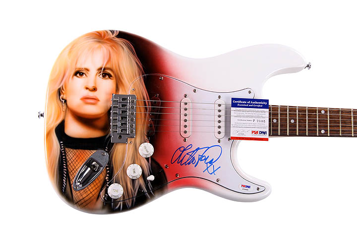 Lita Ford autographed signed guitar Z PSAP75465a Wholesale sexy lingerie & sexy underwear from China, with competitive price, ...