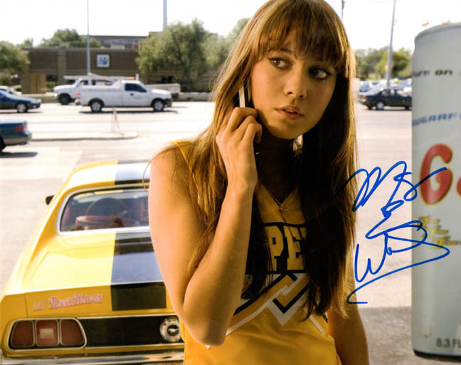 Mary Elizabeth Winstead Autographed Signed Death Proof Photo UAC