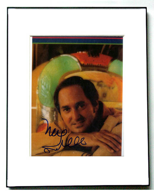 NEIL SEDAKA Signed Autographed Photo & COA & PROOF   AFTAL