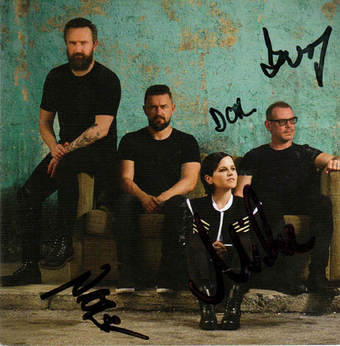 The Cranberries Autographed Something Else Cd Cover RACC TS UACC RD AFTAL