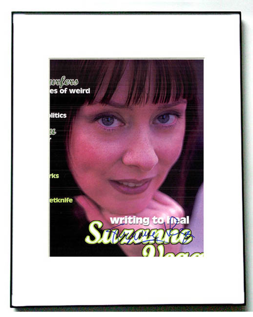 SUZANNE VEGA Signed Autographed Photo & COA & PROOF   AFTAL
