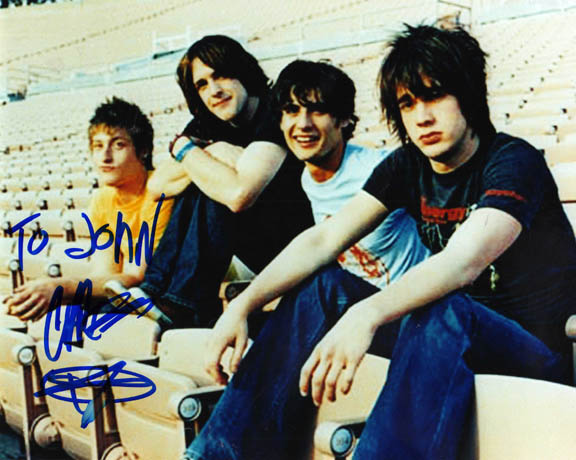 All American Rejects Autographed Signed Photo