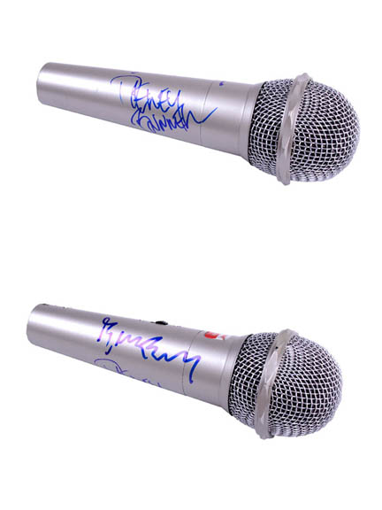 America Autographed Signed Microphone & Flawless Video Proof