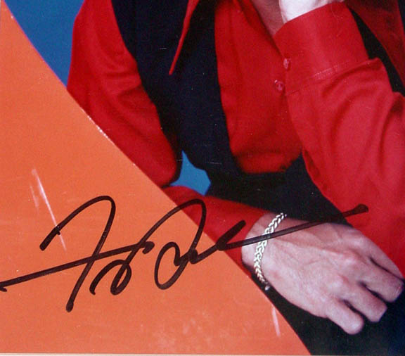 Frankie Avalon Autographed Signed Photo Display & Proof JSA