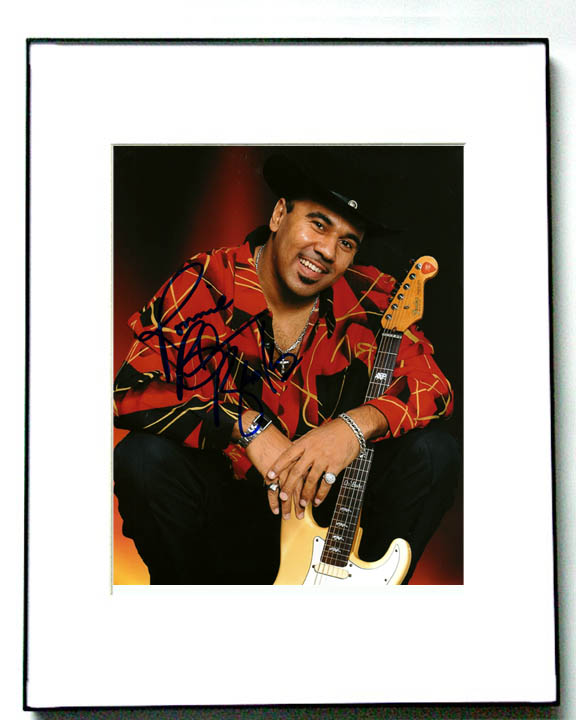 Ronnie Baker Brooks Autographed Signed Photo Blues Legend