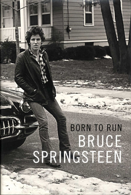 Bruce Springsteen Signed Born To Run Book Title Page AFTAL UACC RD COA