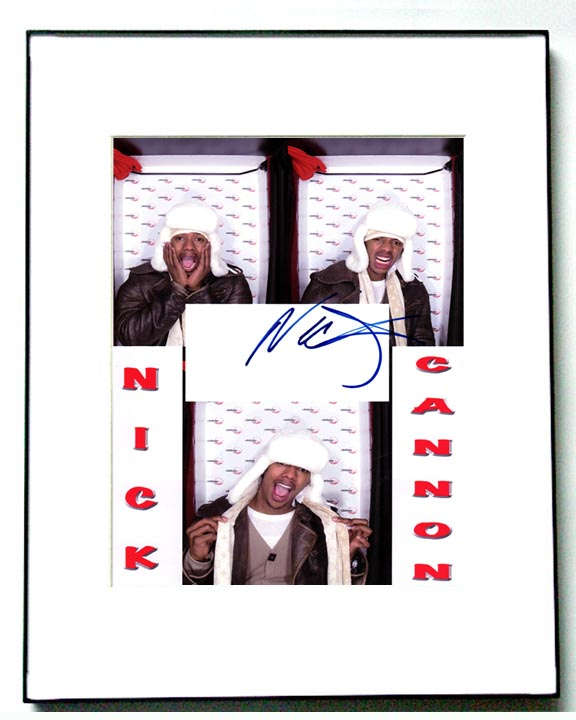 Nick Cannon Autographed Collage Photo   AFTAL
