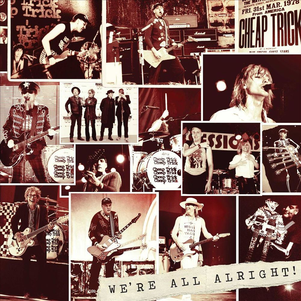 Cheap Trick Were All Alright Cd New Unopened Hard Case NIB un-signed Sealed