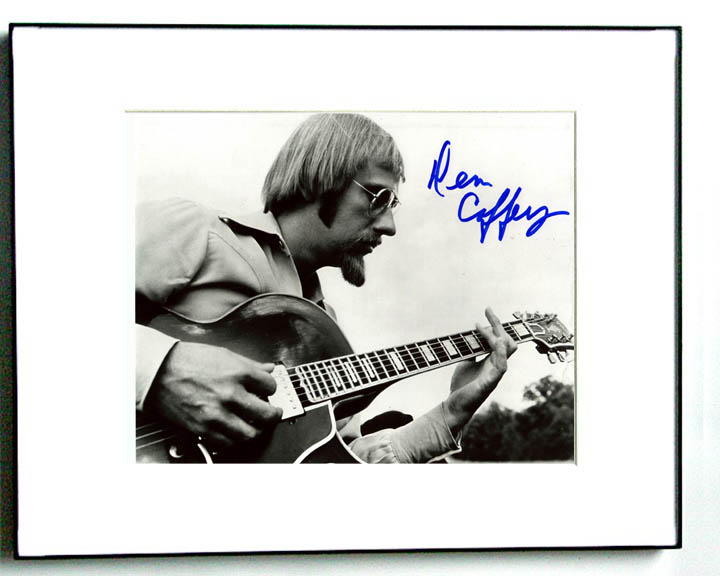 Dennis Coffey Autographed Signed Framed Photo Funk   AFTAL