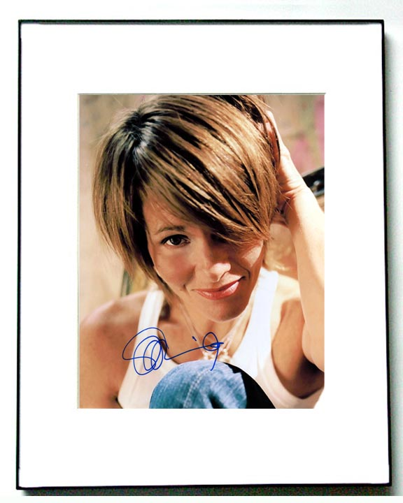 Shawn Colvin Autographed Signed Adorable Photo & Proof   AFTAL