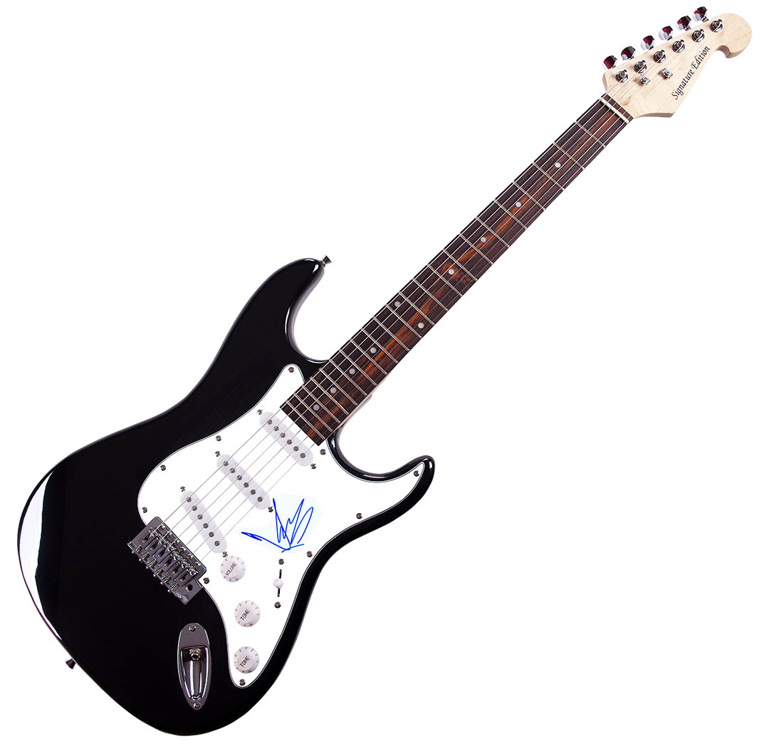 Chris Cornell Autographed Signed Electric Guitar AFTAL UACC RD COA