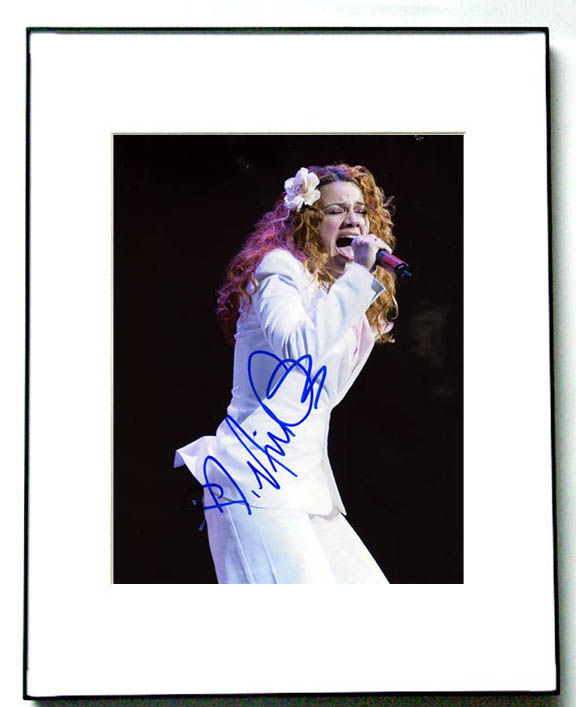NIKKA COSTA Autographed Signed Photo   AFTAL