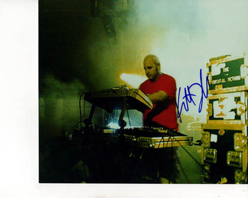 Crystal Method Autographed Live Signed Photo PSA/DNA