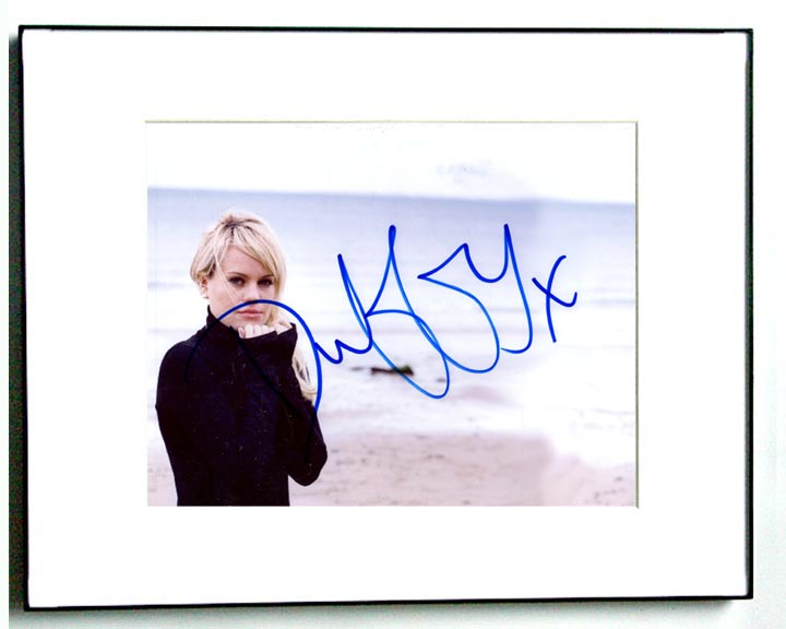 Duffy Autographed Signed Sexy Beach Photo & Video Proof   AFTAL