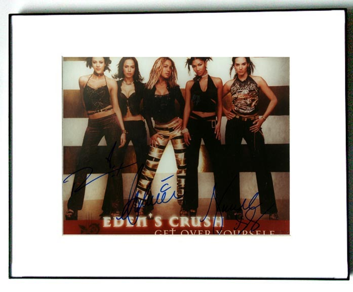 Edens Crush Autographed Dashing Signed Photo PSA/DNA 3xCOAs AFTA AFTAL