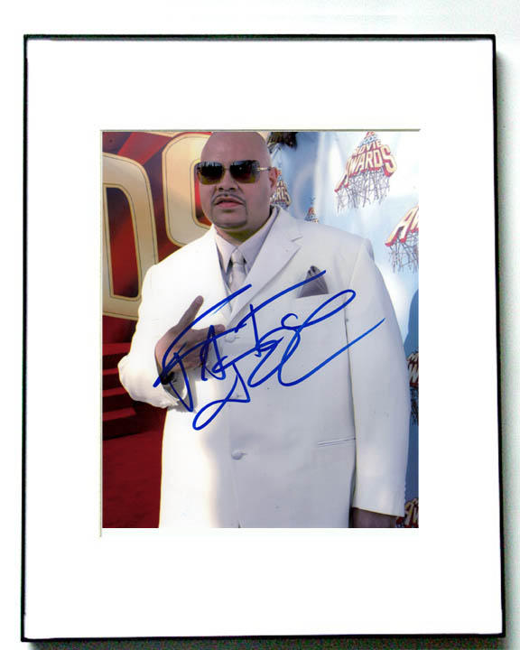 Fat Joe Autographed Signed Framed White Suit Awards Photo Rap