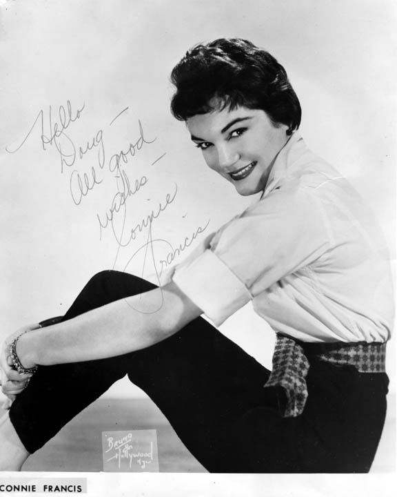 Connie Francis Autographed Signed Photo Close Window