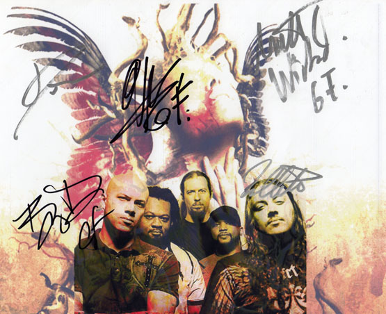 God Forbid Autographed Signed Mayhem Photo & Proof   AFTAL