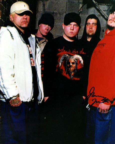 Hatebreed Autographed Signed Photo