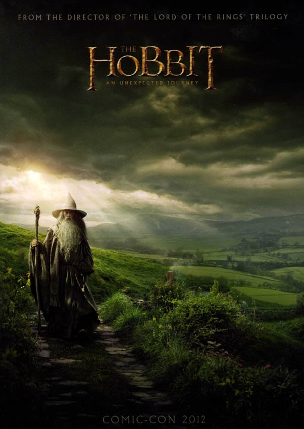 The Hobbit An Unexpected Journey Un-Signed Movie Promo Poster