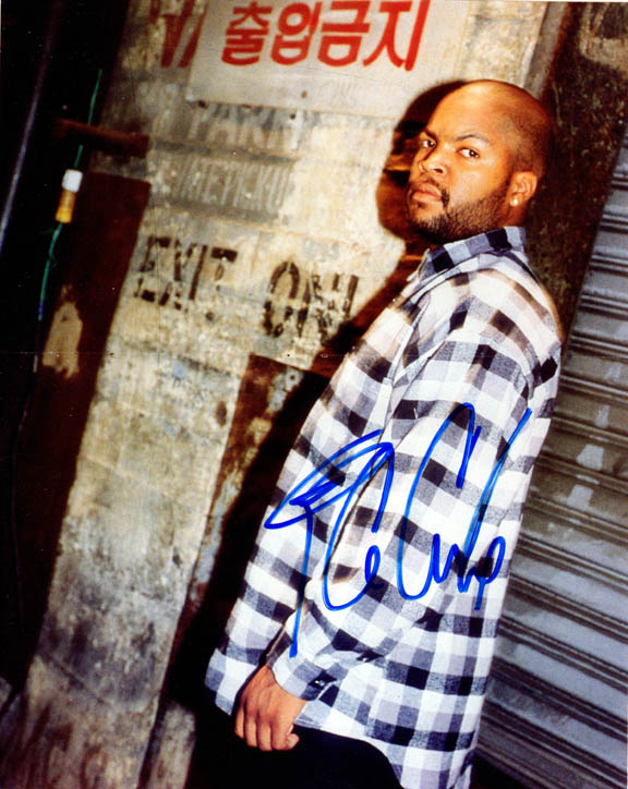 Ice Cube NWA Autographed Signed Crips Poster Photo Uacc Rd