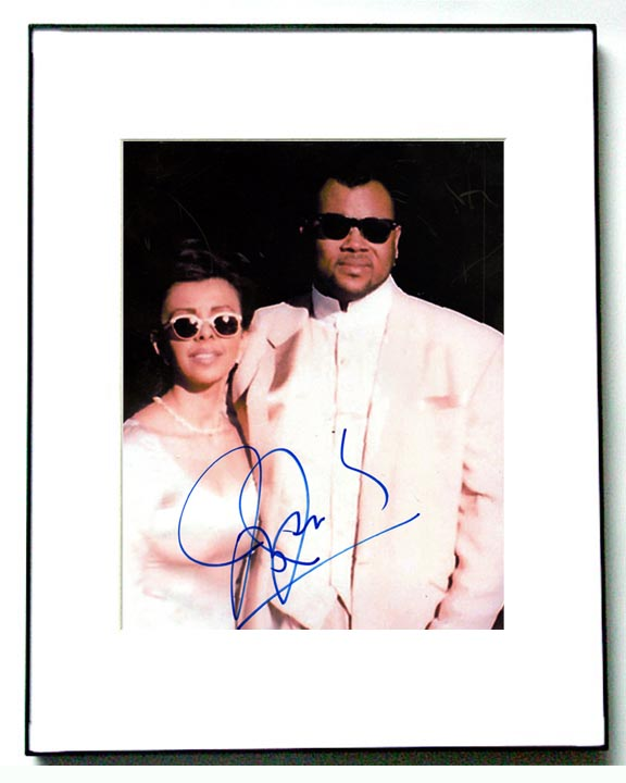 Jimmy Jam Autographed Signed Framed Photo   AFTAL