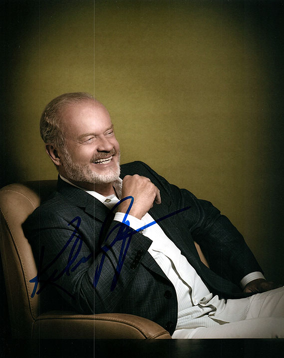 Kelsey Grammer Will & Grace Autographed Photo UACC RD AFTAL RACC TS