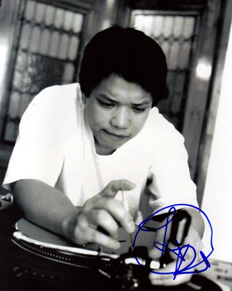 Kid Koala Autographed Signed DJ Photo