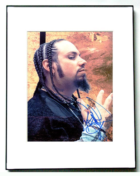 Korn Autographed Fieldy Signed Awesome Profile Photo & Proof