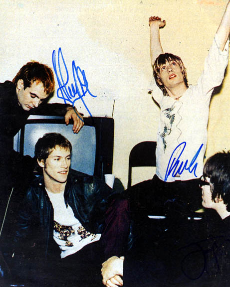 Kula Shaker Autographed Signed Photo   AFTAL