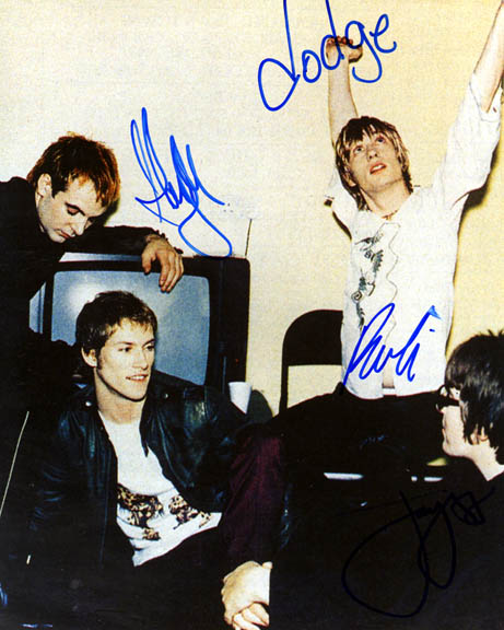 Kula Shaker Autographed Signed Band Photo   AFTAL