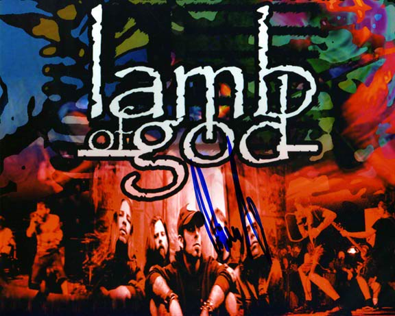 Ozzfest Autographed Signed Lamb of God Photo & Proof    AFTAL