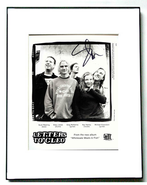 LETTERS TO CLEO Signed Autographed Photo UACC RD