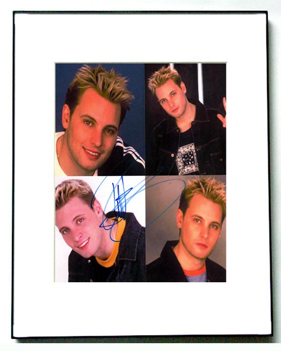 LFO Autographed Rich Signed Collage Photo & Proof   AFTAL