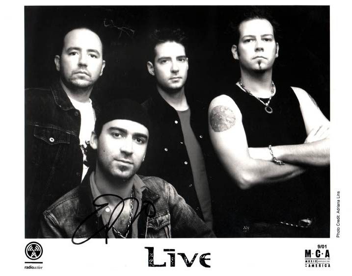 Live Autographed Signed Promotional Photo & Proof   AFTAL