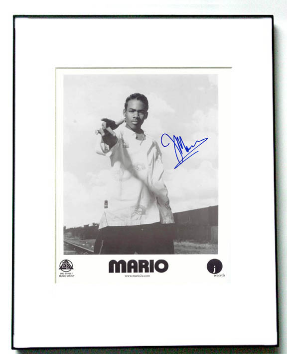 MARIO Autographed Signed YOUNG HOT PROMO Photo UACC RD
