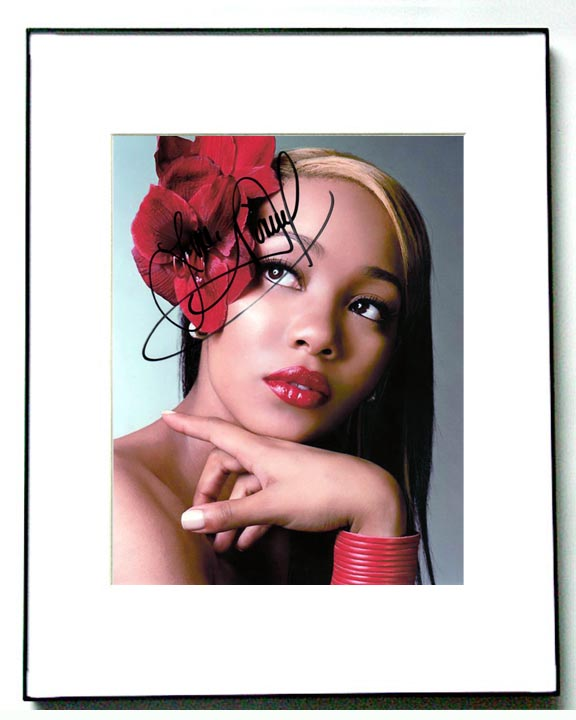 Monica Autographed Signed Diva Photo & Proof