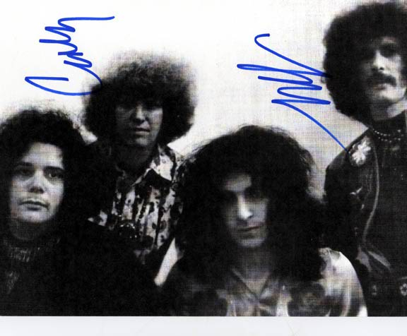 Mountain Autographed Signed Band Photo   AFTAL