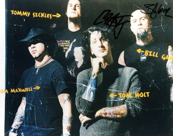 Nothingface Autographed Signed Photo    AFTAL