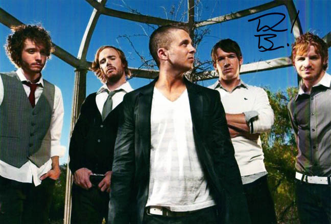 One Republic Autographed Signed Drew Brown Photo UACC RD COA