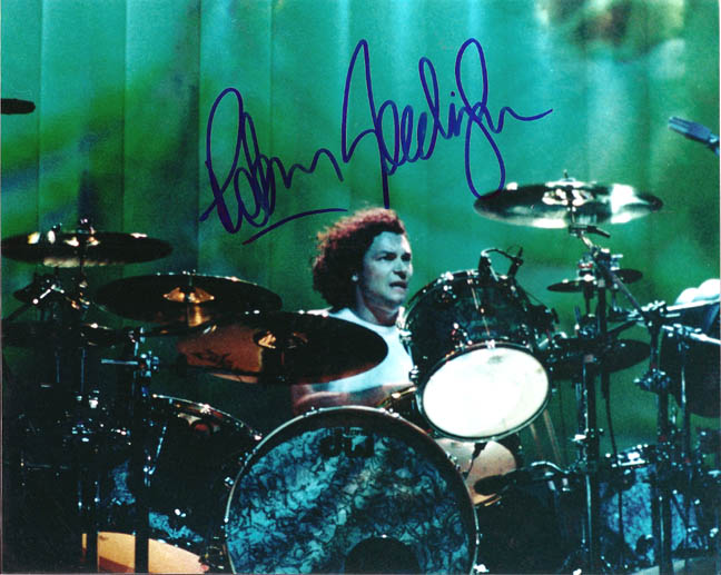 Bush Autographed Signed Drummer Photo   AFTAL