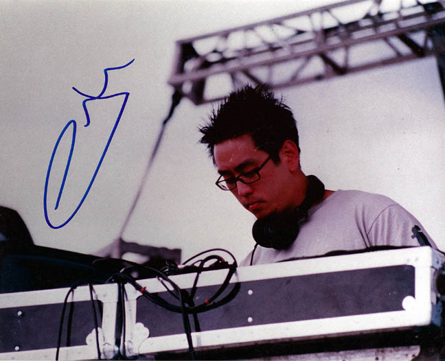 Linkin Park Autographed Joe Hahn Signed Photo & Proof   AFTAL