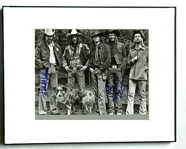 Purple Sage Autographed Signed Framed Photo