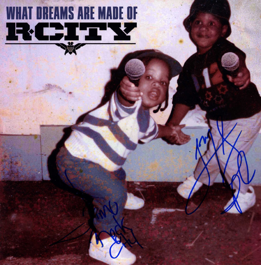 R. City Autographed X2 What Dreams Are Made Of Album Flat AFTAL UACC RD COA
