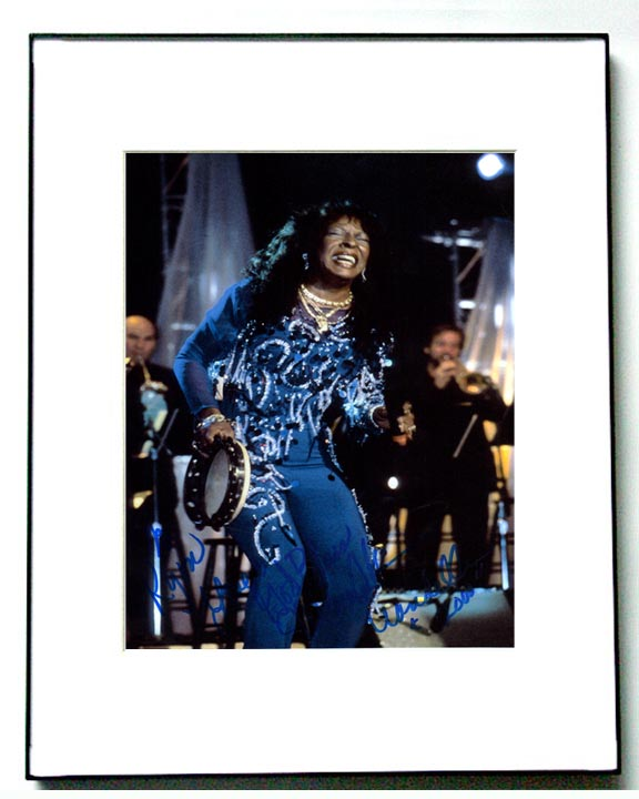 Martha Reeves Autographed Vandellas Live Signed Framed Photo