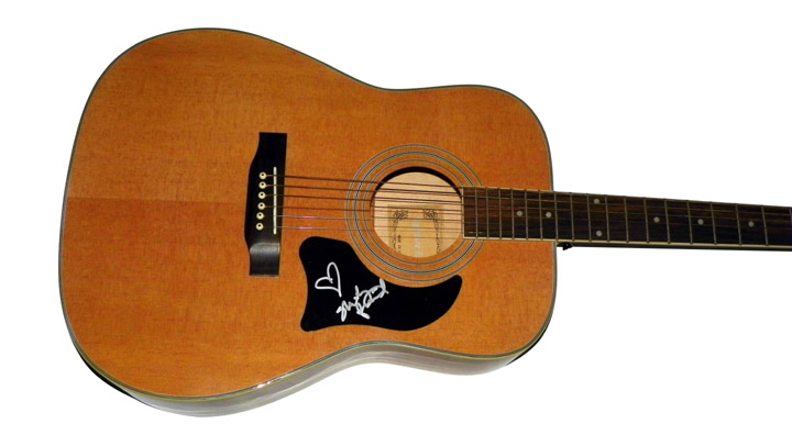Shelly Fairchild I Want To Love You Signed Nat Acoustic Guitar